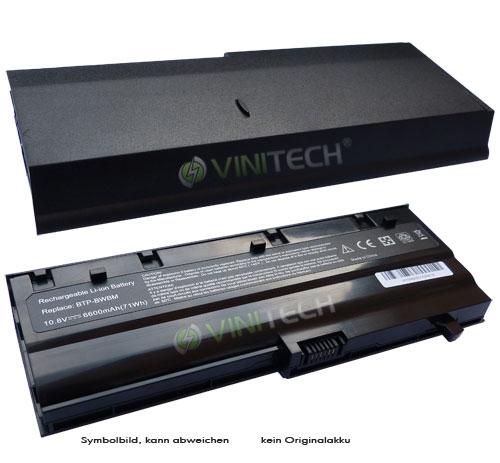 notebook laptop akku batterie 10 8v 6600mah schwarz f r. Black Bedroom Furniture Sets. Home Design Ideas